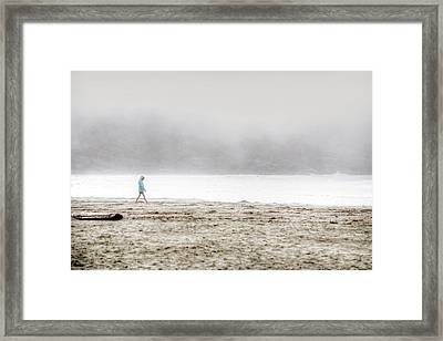 Alone Framed Print by Lisa Knechtel