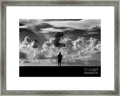 Alone Framed Print by Stelios Kleanthous