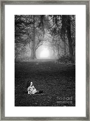Alone Framed Print by Tim Gainey