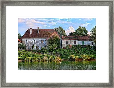 Along The River Somme Framed Print by Tom Prendergast