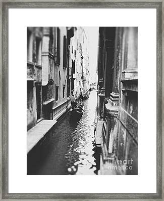 Through The Waterways Framed Print by Ivy Ho