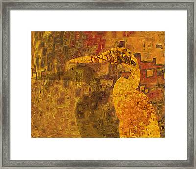 Along The Wall Framed Print by Jack Zulli