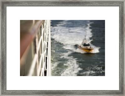 Alongside Framed Print by Anne Gilbert