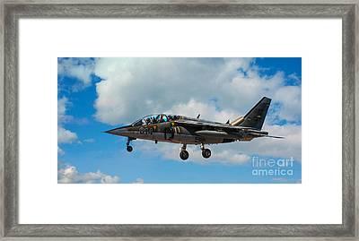Alpha Jet 014 Framed Print by Bianca Nadeau