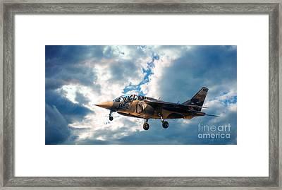Alpha Jet 082 Framed Print by Bianca Nadeau