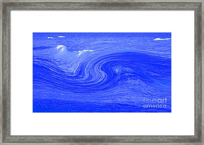 Alpha Wave By Jrr Framed Print by First Star Art