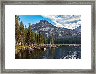 Alpine Beauty Framed Print by Robert Bales