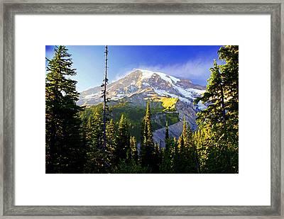 Alpine Glow 2 Framed Print by Marty Koch
