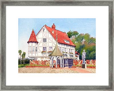 Alt Karlsbad California Framed Print by Mary Helmreich