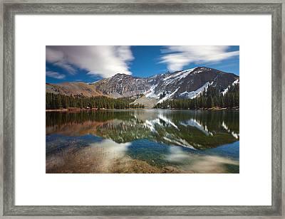 Alta Lakes Framed Print by Darren  White