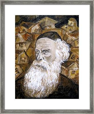 Alter Rebbe Framed Print by Leon Zernitsky