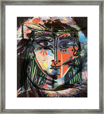 Alterations Of Drugs Framed Print by JC Photography and Art