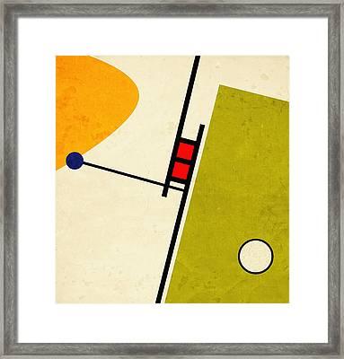 Alternate Approach Framed Print by Richard Rizzo