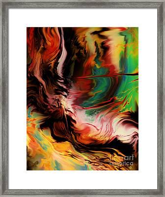 Alternate Reality Glide Framed Print by Kyle Wood