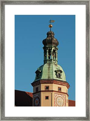 Altes Rathaus (town Hall Framed Print by Michael Defreitas
