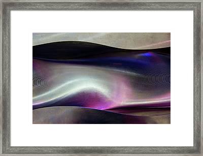 Aluminium Milling. Framed Print by Mark Williamson