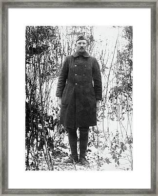 Alvin C Framed Print by Granger