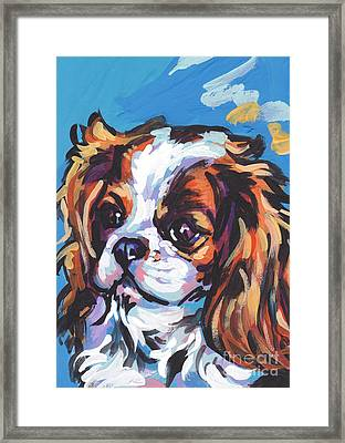 Always Cavalier Framed Print by Lea S