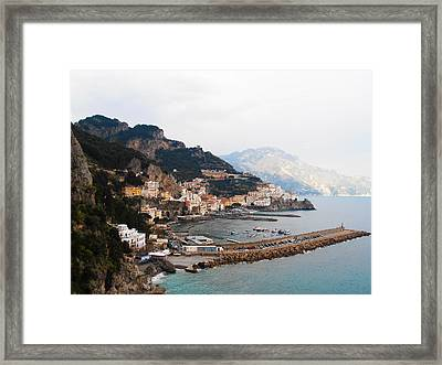 Amalfi Italy Framed Print by Pat Cannon