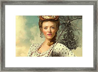 Amanda Seyfried A Million Ways To Die In The West  Framed Print by Movie Poster Prints