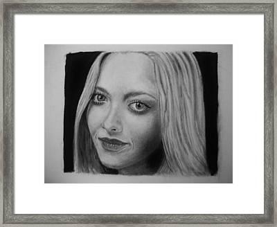 Amanda Seyfried Framed Print by Daniel Diehl
