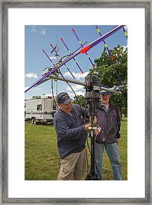 Amateur Radio Operators Framed Print by Jim West