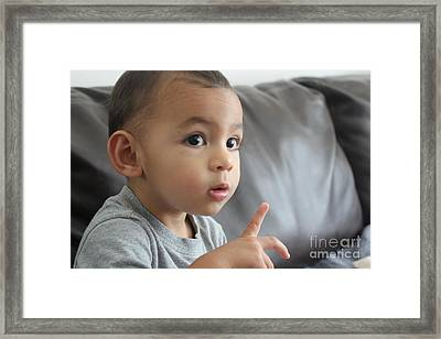 Amazement Framed Print by Lotus