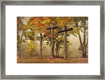 Amazing Grace Framed Print by Debra and Dave Vanderlaan