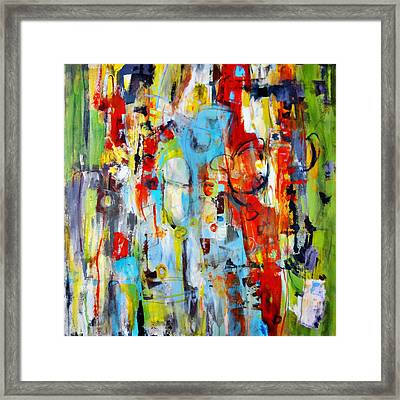 Ambidextrous Framed Print by Katie Black