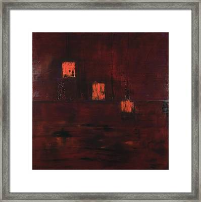 Ambiguity Framed Print by Rick Cash