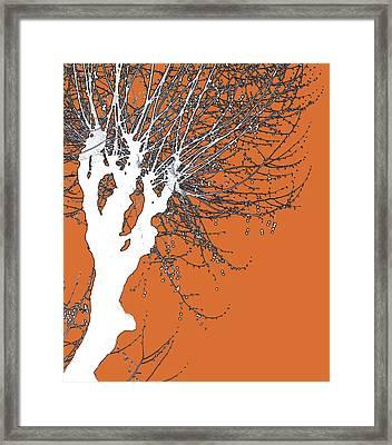 Ambition Framed Print by Yvonne Haugen