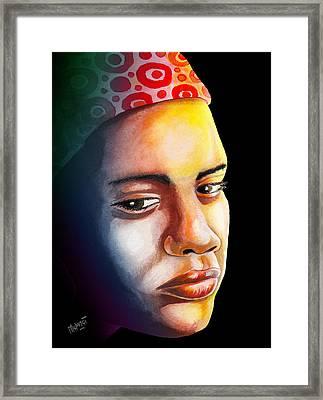 Ambivalence Framed Print by Anthony Mwangi