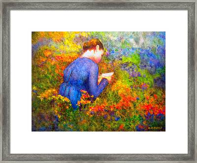 Ambrosia's Love Letter Framed Print by Michael Durst