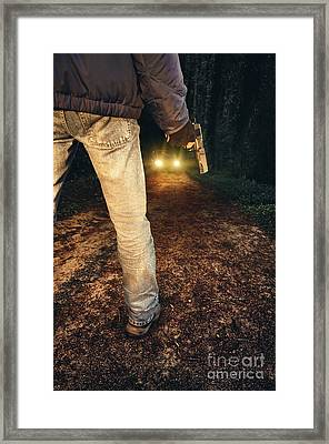Ambush Framed Print by Carlos Caetano