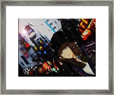 Ame Framed Print by Elle L