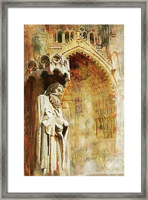 Ameins Cathedral  Framed Print by Catf