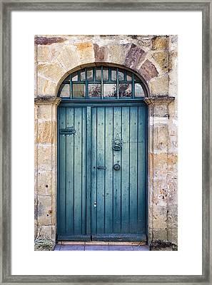 Amelias Door Framed Print by Georgia Fowler