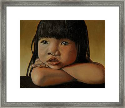 Amelie-an 4 Framed Print by Thu Nguyen