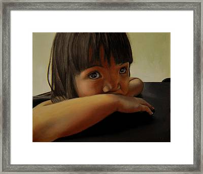 Amelie-an 7 Framed Print by Thu Nguyen