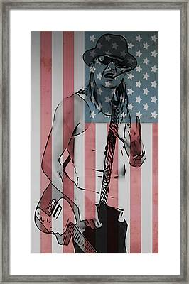 American Badass Framed Print by Dan Sproul
