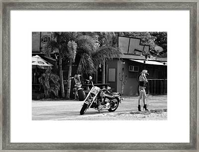 American Classic Framed Print by Laura Fasulo