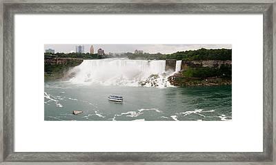 American Falls Framed Print by Adam Romanowicz