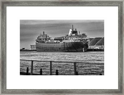 American Fortitude Final Voyage Framed Print by Everet Regal
