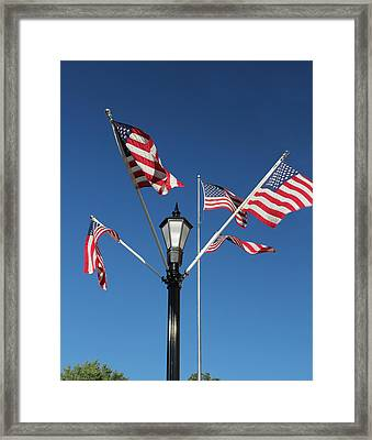American Glory Framed Print by James Hammen