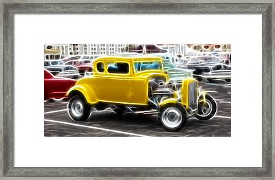 American Grafitti Coupe Framed Print by Steve McKinzie