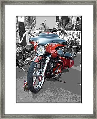 American Heat - Palm Springs Framed Print by Glenn McCarthy Art and Photography