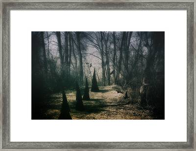 American Horror Story - Coven Framed Print by Tom Mc Nemar