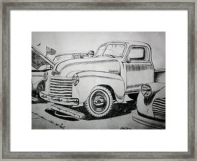American Made Framed Print by Stacy C Bottoms