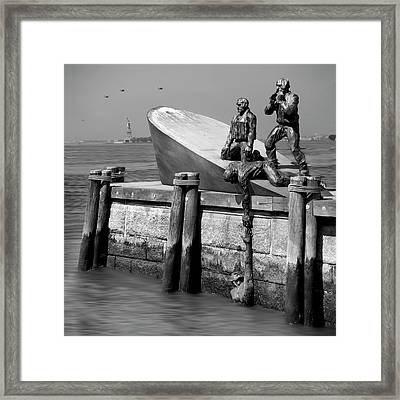 American Merchant Mariners Memorial Framed Print by Mike McGlothlen