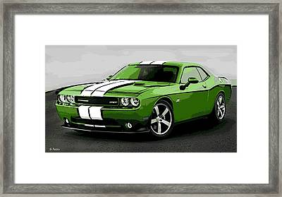 American Muscle Framed Print by George Pedro